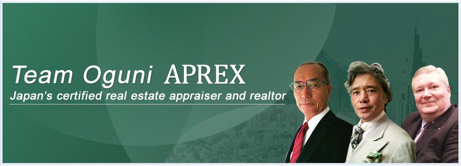 Team Oguni APREX Japan's certified real estate appraiser and realtor
